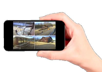 Просмотр камер с телефона онлайн