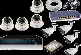 Видеонаблюдение: установка, оборудование, продажа, монтаж